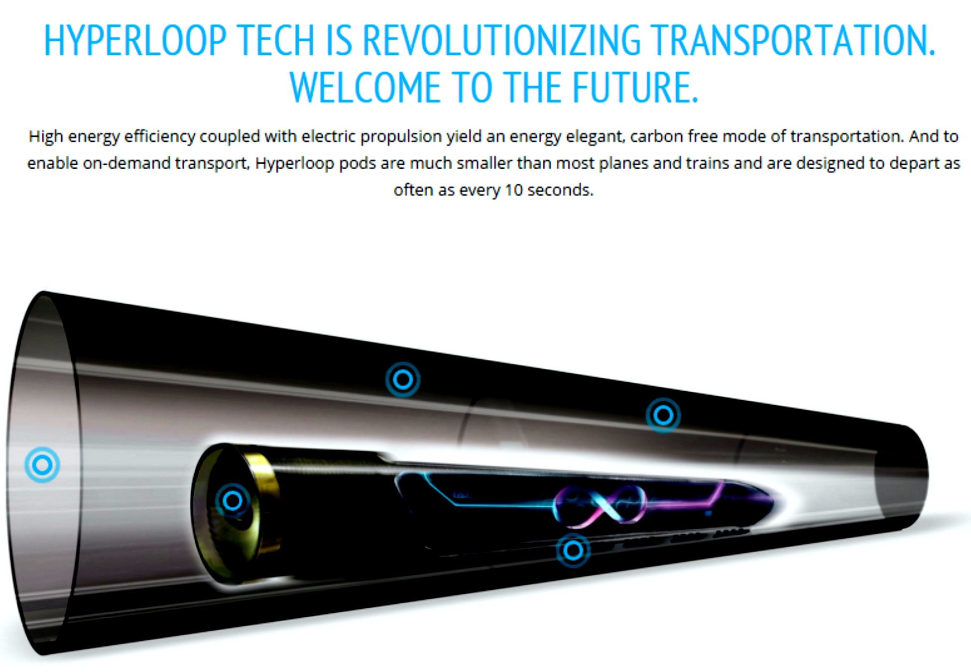 The First Hyperloop Test Track Will Be Built In North Las Vegas Innevation Powered By Switch